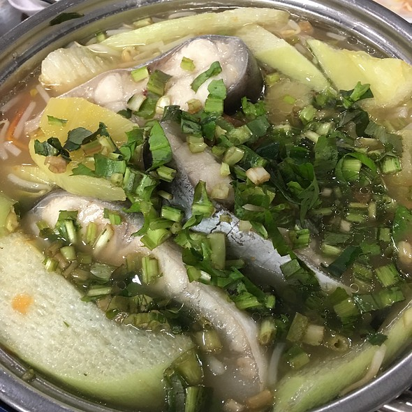 Fish Fillet And Mixed Vegetables Hotpot