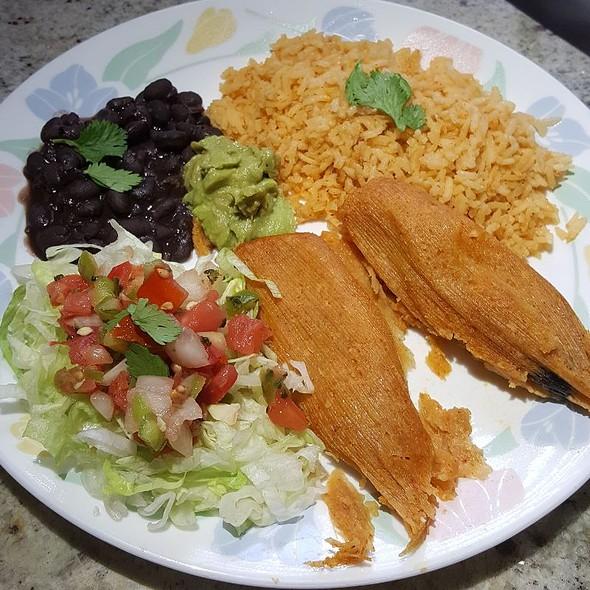 Chicken Tamale Plate
