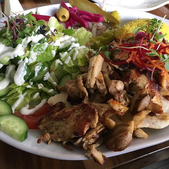 Chicken Schwarma Plate