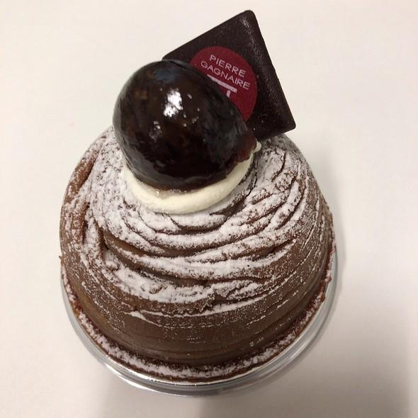 Marron Cake @ Pierre Gagnaire