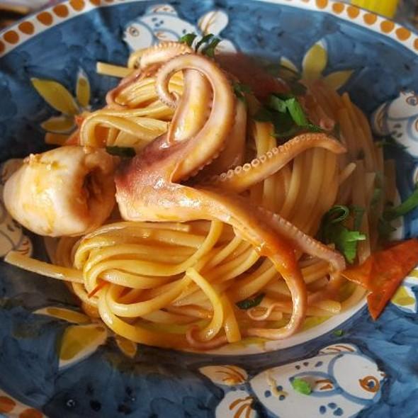 Pasta Coi Moscardini @ Alfonsone