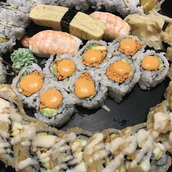 Big giant sushi platter
