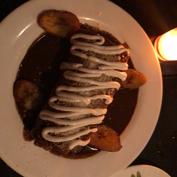Burrito with Mole