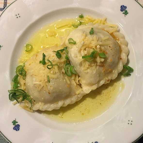 Carinthian Cheese Dumplings with a touch of mint