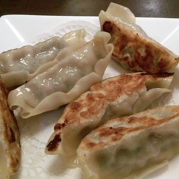 Pan Fried Pork And Chive Dumplings