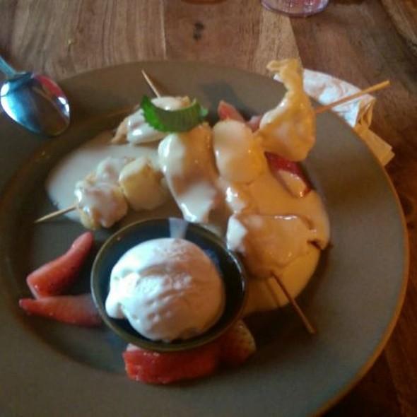 Fried Wonton Dessert @ Yak & Yeti - Disney's Animal Kingdom