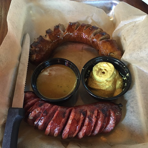 Smoked Sausage Sampler