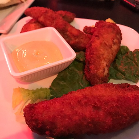 Potato Crusted Chicken Fingers @ The Mean Fiddler