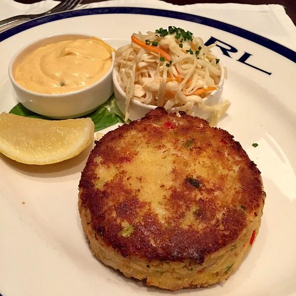 crab cake @ RL Restaurant (Ralph Lauren)