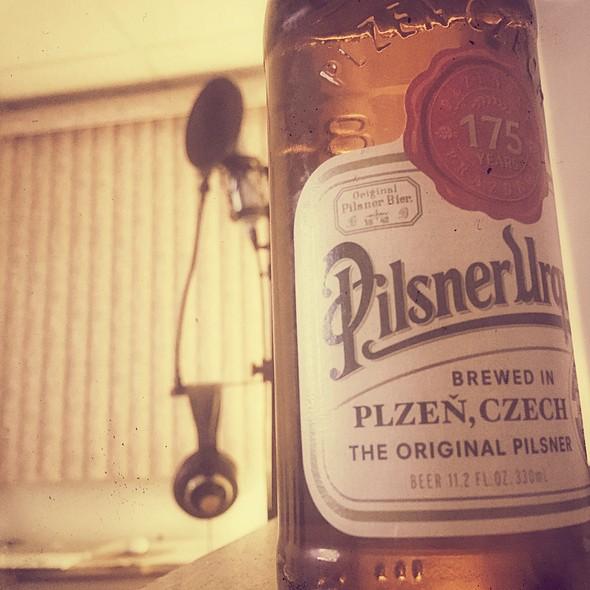 Pilsner Urquell @ My Studio in Bayonne, NJ