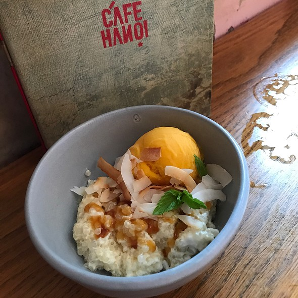 Coconut Sago Pudding