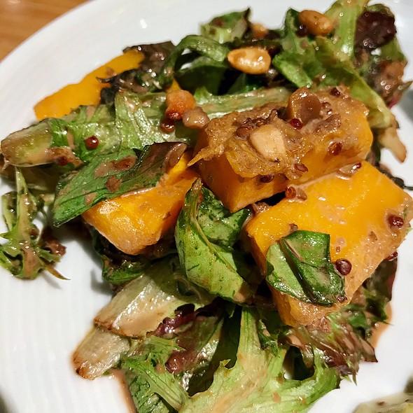 Triple Nut Roasted Pumpkin and Capsicum Salad