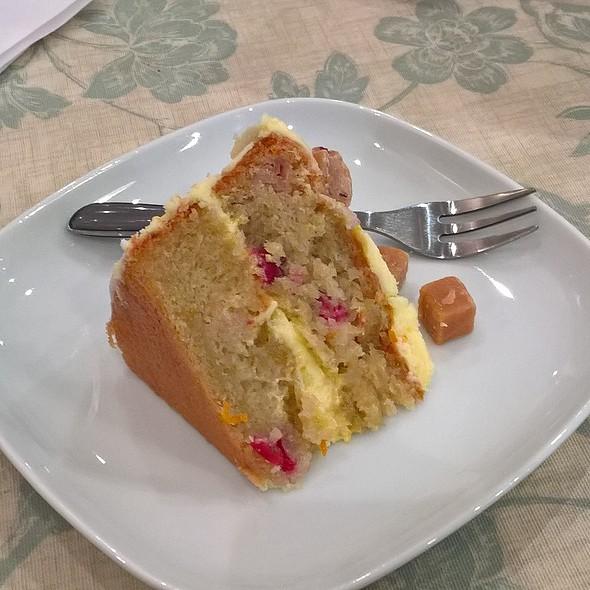 Orange And Cranberry Cake @ The Cake Bar
