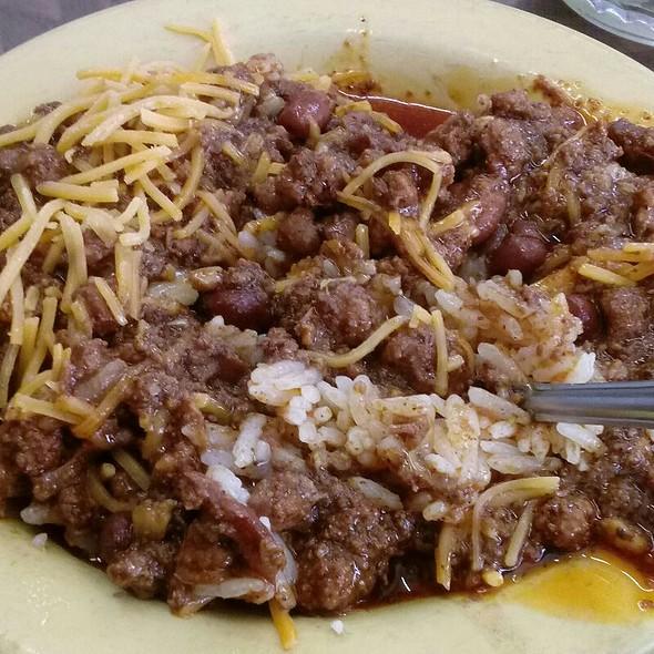 Beef Chili With Rice @ Chili John's