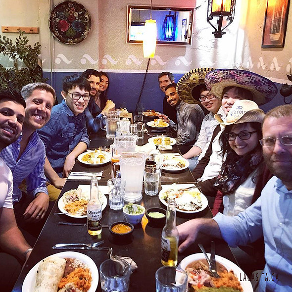 group lunch in Vancouver, BC