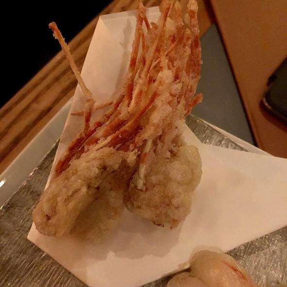 Fried Botan Ebi (Shrimp) Heads