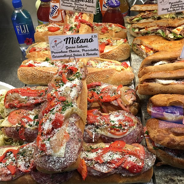 Sandwiches @ By George! Pizza, Pasta & Cheesesteak Reading Terminal Market