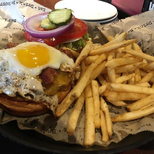Fried Louie Burger