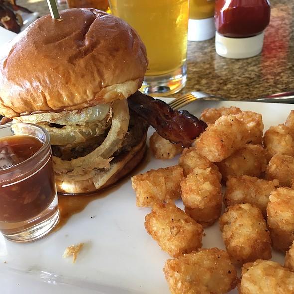 Bullett Bourbon Spiked Burger