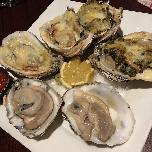 Oysters - 3 Ways
