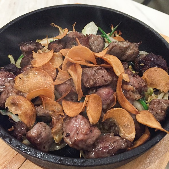 Teppan Saikoro Steak
