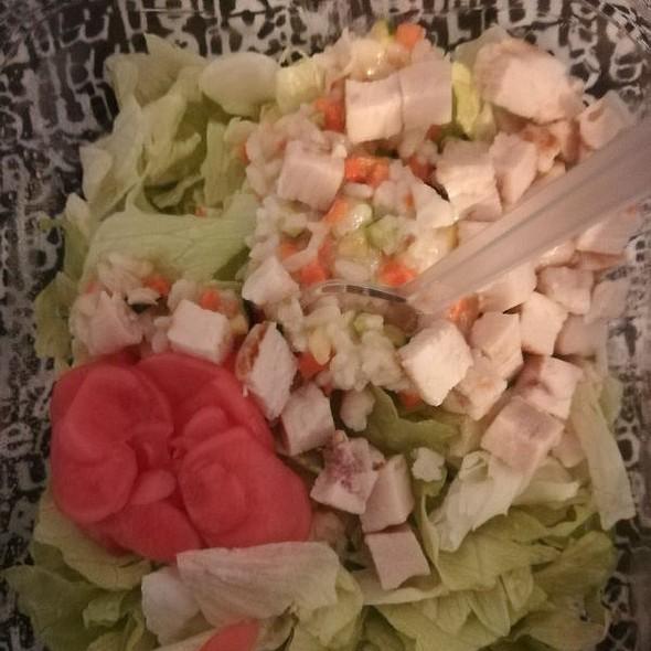 Chicken Wasabi Salad
