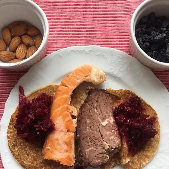 Protein Breakfast @ Apartment