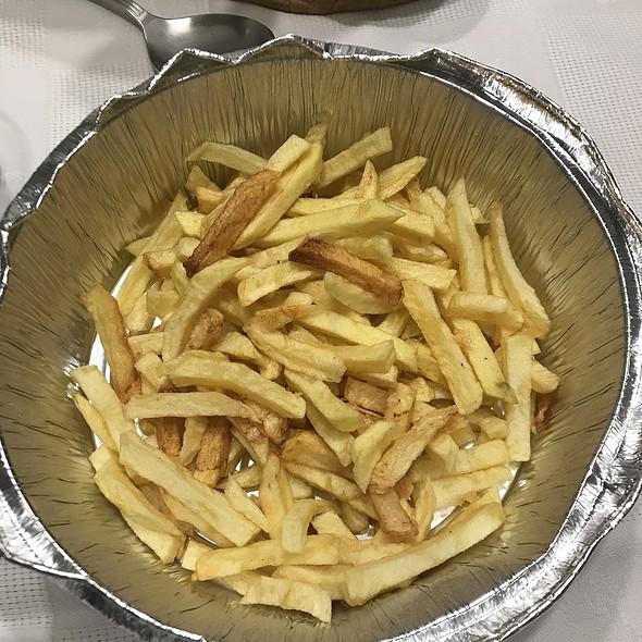 French Fries @ Restaurante Peixe Azul