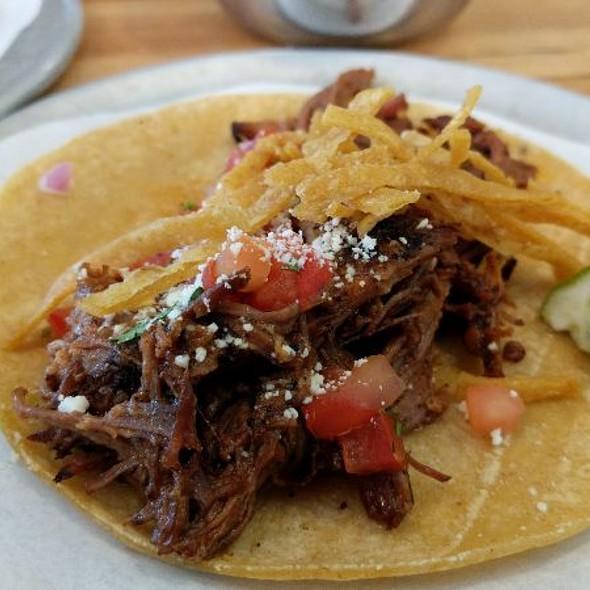 Beef Brisket Taco @ Trejos Tacos