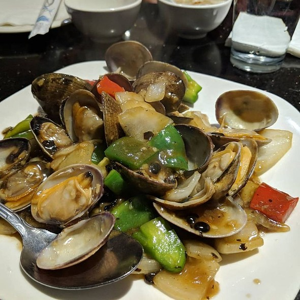 Clams w/ Black Bean Sauce