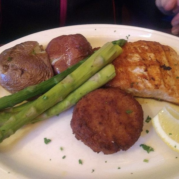 Grilled Salmon @ Azorean Restaurant & Bar