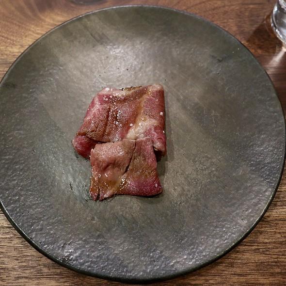 Grilled Striploin Au Poivre