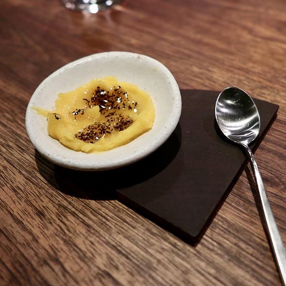 Kumquat Sorbet with Earl Grey Tea
