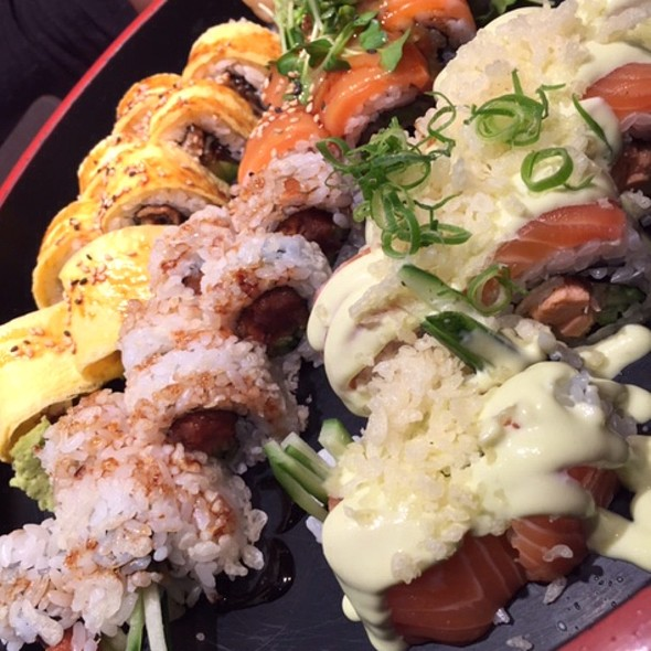 Sushi-Rolls @ Home Sweet Home Sir Aqua