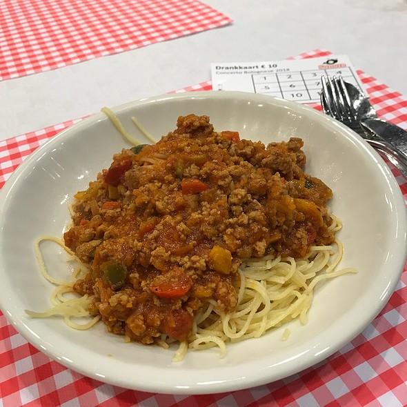 Spaghetti Bolognese @ De Samenkomst