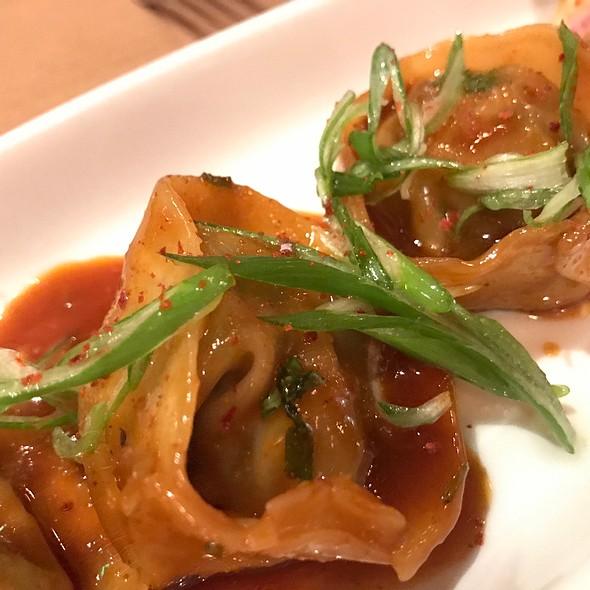 Korean Beef Dumplings