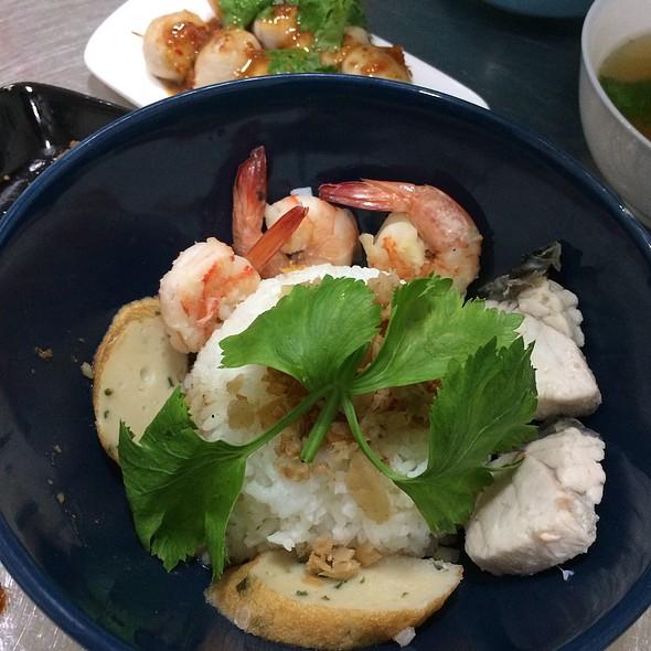 ข้าวต้มแห้งทะเล Dry Porridge Seafood