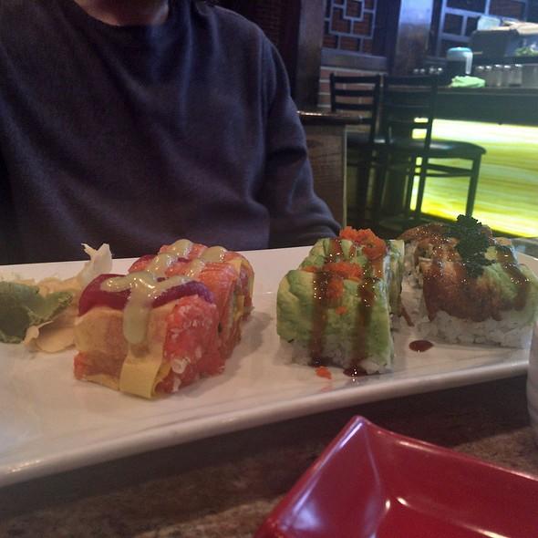 Black Dragon Roll And Jumbo Galaxy Sashimi Roll