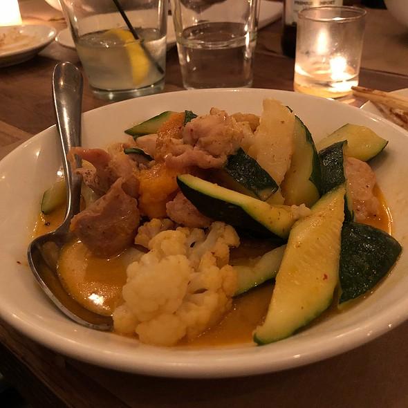 Panang Curry Chicken @ Chop Shop Ii
