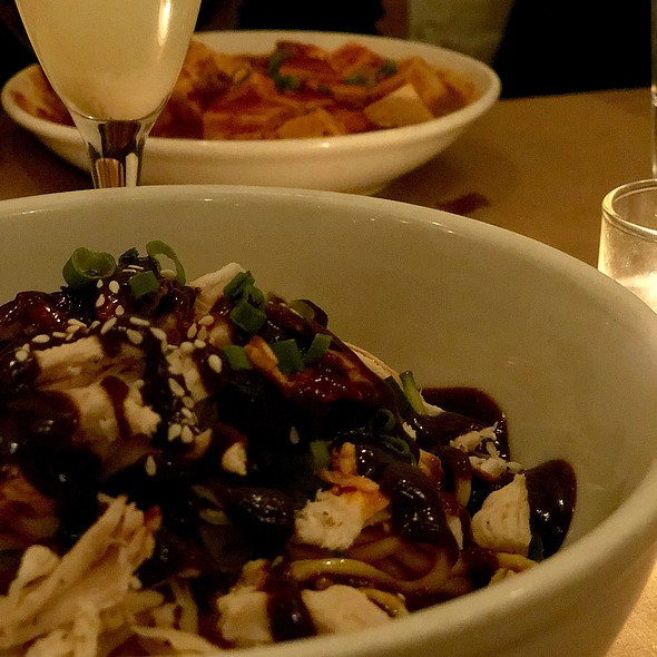 Cold Sesame Noodles With Chicken @ Chop Shop Ii