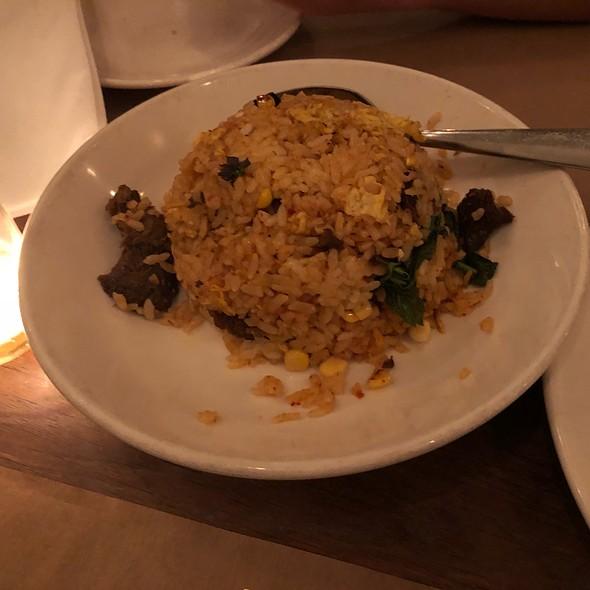 Spicy Short Rib Fried Rice @ Chop Shop Ii