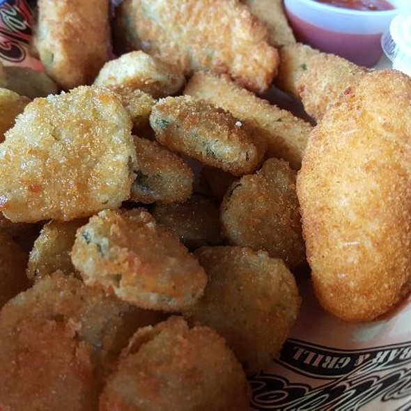 Jalapeño Poppers And Deep Fried Pickles @ Christian's Tailgate Heights