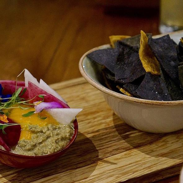 Sikil Pak - Mayan Pumpkin Seed Dip