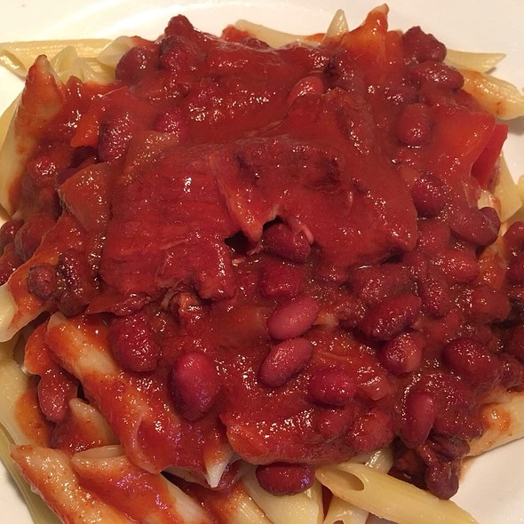 Tomato Sauce with Pork and Red Beans @ Apartment