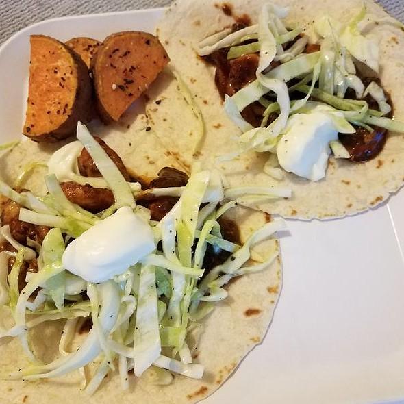 Korean Chicken Tacos