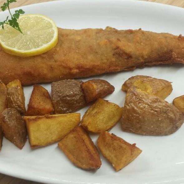 Fisch Gebacken Mit Kartoffeln