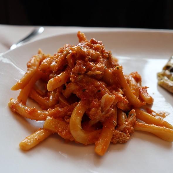 Strozzapreti with Jumbo Lump Crab, Calabrian Chili, and Lemon