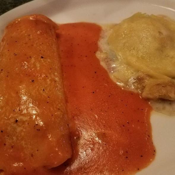 Enchilada & Poblano @ Los Bravos Mexican Restaurant