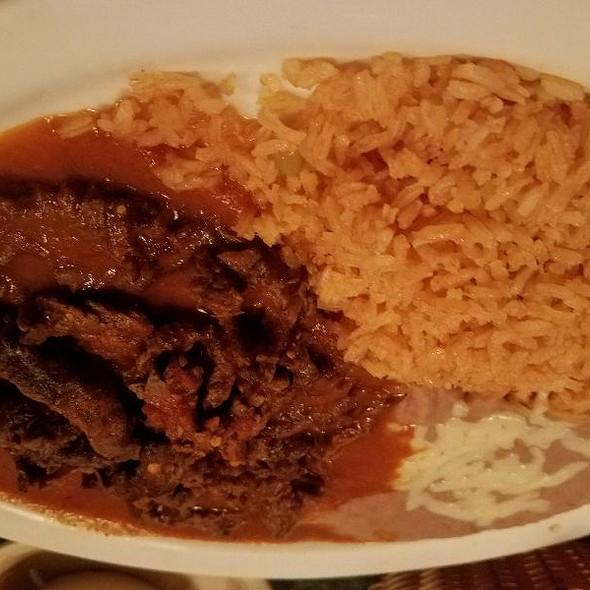 Chile Colorado @ Los Bravos Mexican Restaurant