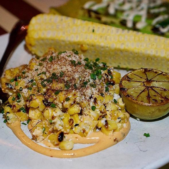 Sweet corn, chipotle mayo, lemon salt